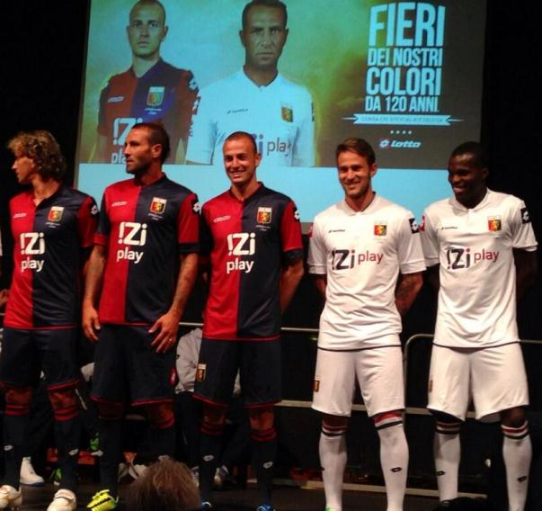 New Genoa Kit 13 14
