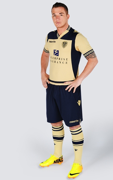 New Leeds United Away Kit 13 14