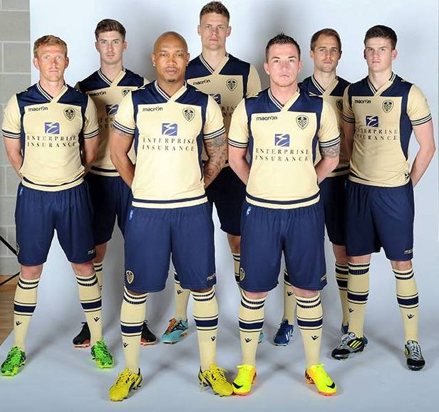 New Leeds United Away Kit 2013 14