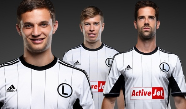 New Legia Warsaw Home Kit Adidas