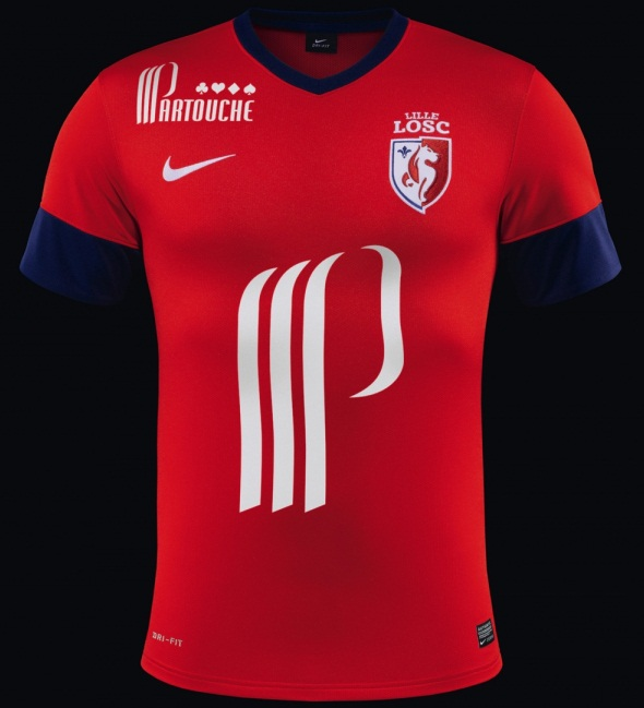 New Lille Home Kit 13 14