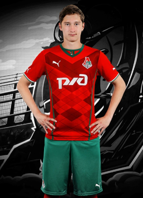 New Lokomotiv Moscow Home Kit 13 14