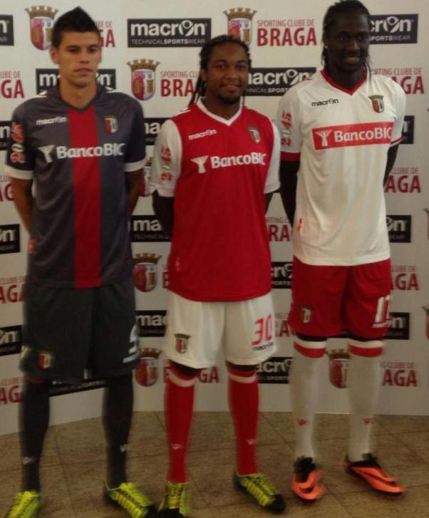 New Macron Braga Kits 13 14