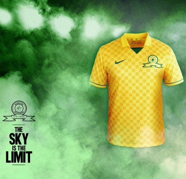 New Mamelodi Sundowns Kit 2013 14