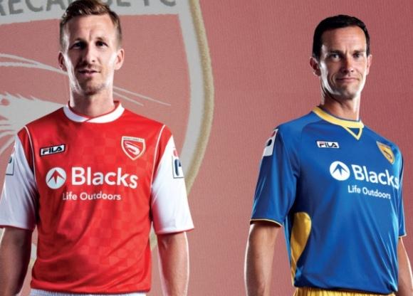 New Morecambe FC Kits 2013 14