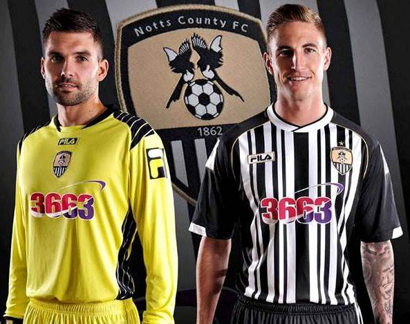 New Notts County Home Kit 2013 14