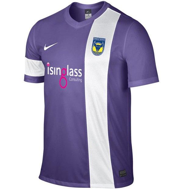 New Oxford United Away Kit 2013 2014