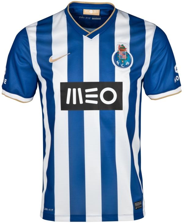 Octavos de Final IDA: FC Porto - LOSC Lille--ERROR-- New-Porto-Home-Kit-2013-14