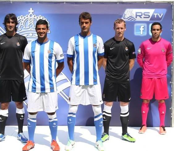 New Real Sociedad Kit 13 14