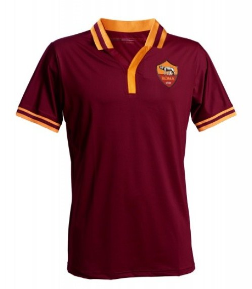 New Roma Kit 13-14- AS Roma Home Jersey 2013-2014