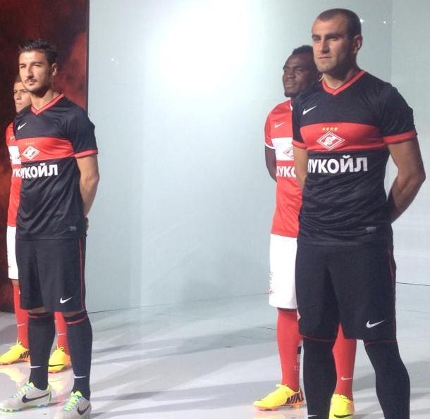 New Spartak Kit 13 14