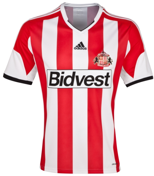 New Sunderland Home Kit 13 14