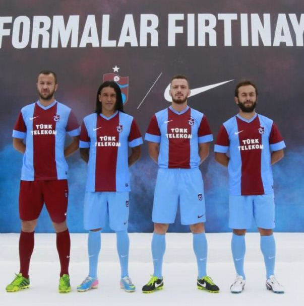 New Trabzonspor Shirt 2013 2014