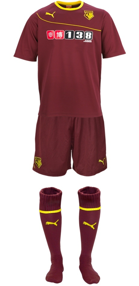 New Watford Away Kit 2013 14