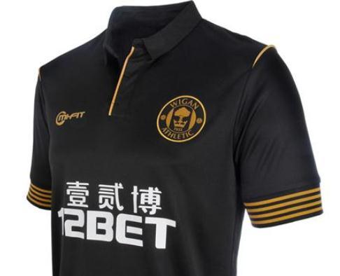 New Wigan Away Shirt 2013 2014
