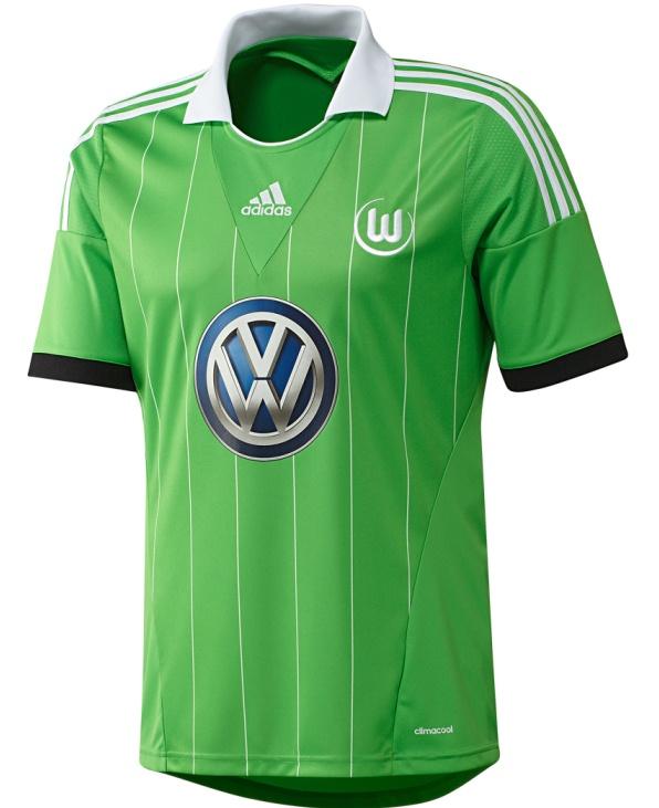 New Wolfsburg Away Kit 2013 14