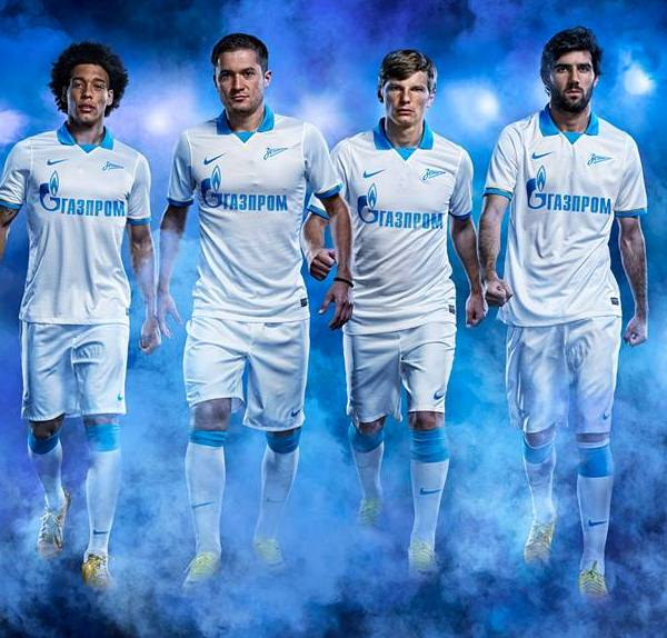 New Zenit Away Kit 13 14