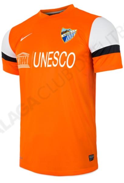 Orange Malaga Jersey 2013 2014