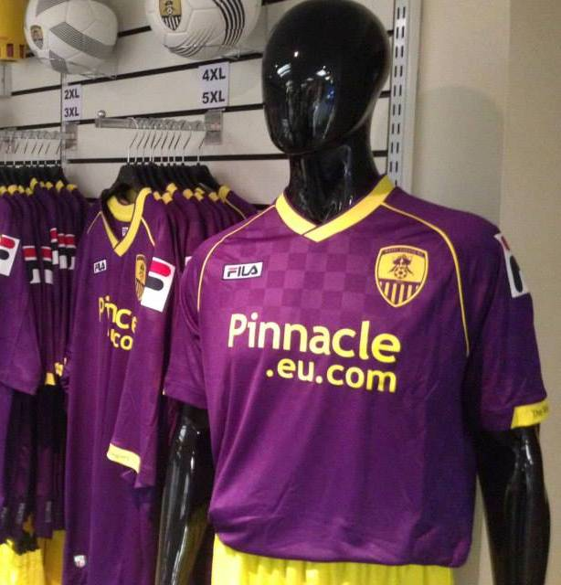 Purple Notts County Kit 2013 14