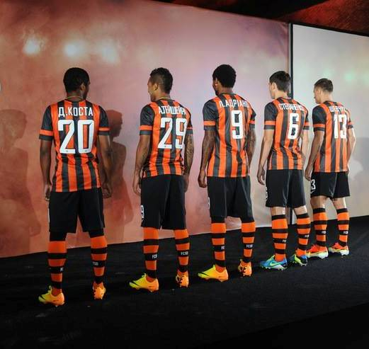 Shakhtar Home Back