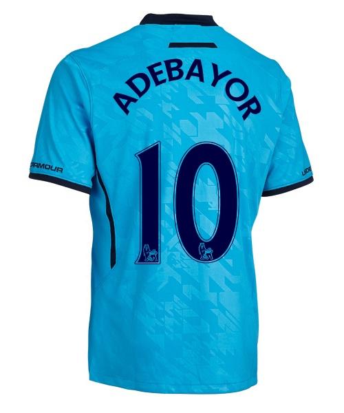 Spurs Away Shirt Back 2013
