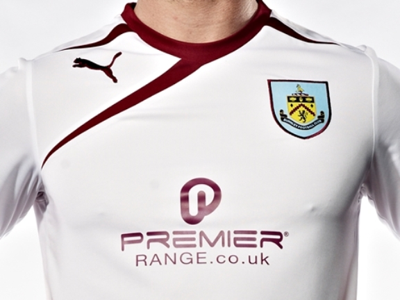 White Burnley Shirt 2013 14