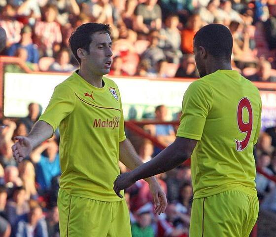 Yellow Cardiff Shirt 2013 2014