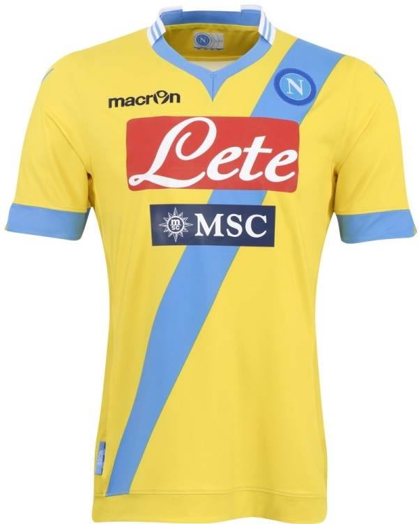 Yellow Napoli Jersey 2013 2014