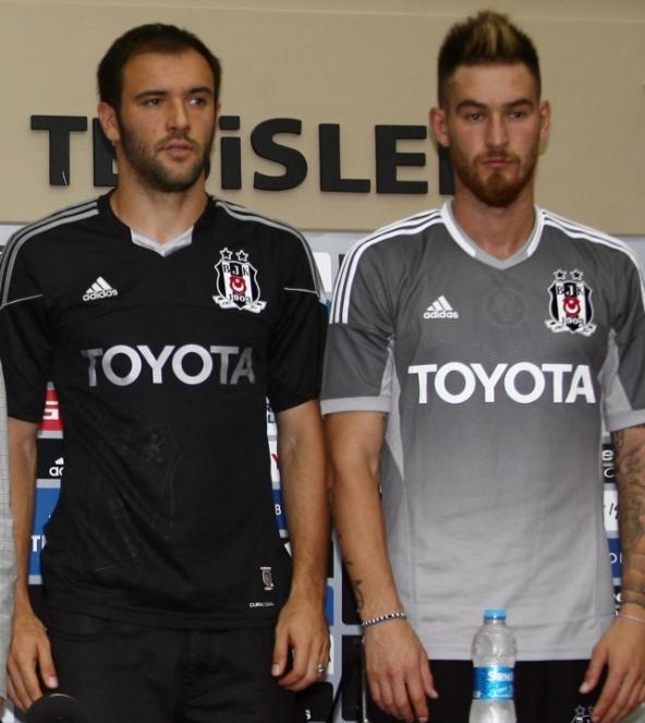 Besiktas, soccer clubs camisa, uniform, kits
