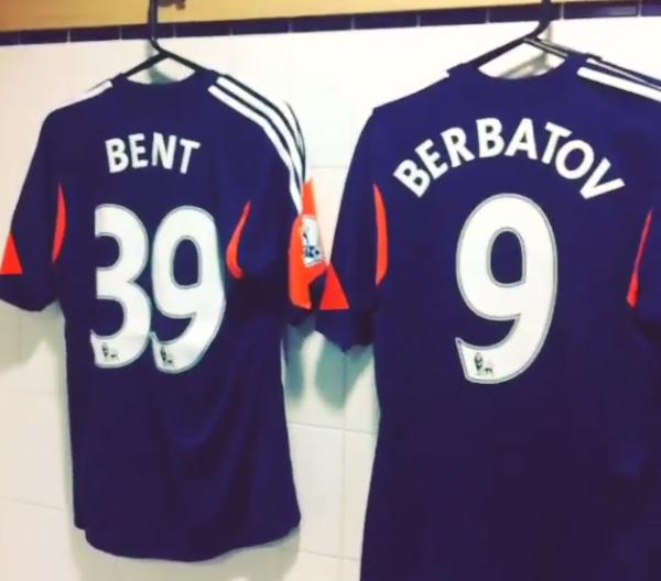 Blue Fulham Third Kit 2014