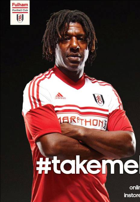 New Fulham Away Kit 13 14