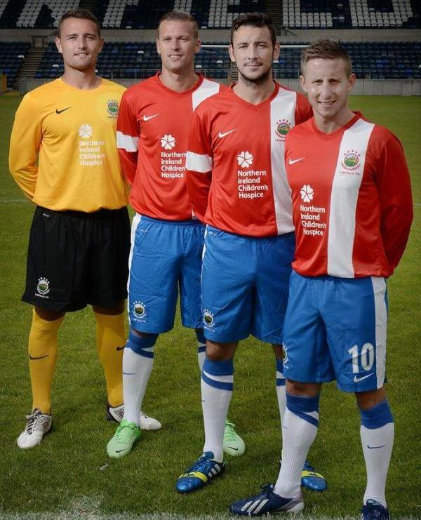 New Linfield Away Kit 2013 14
