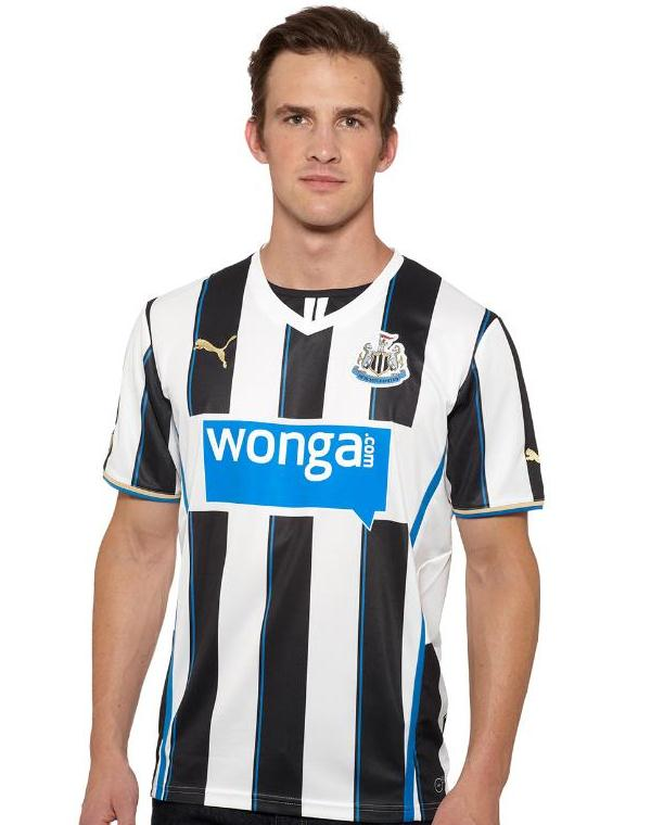 New Newcastle Home Strip 13 14