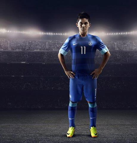 Sunil Chettri India Shirt 2013