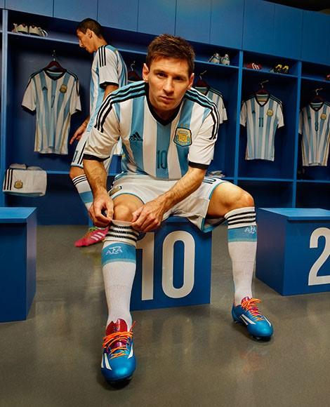 Lionel Messi Argentina 2014 Kit