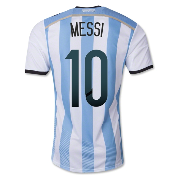 Messi Argentina World Cup Shirt 2014