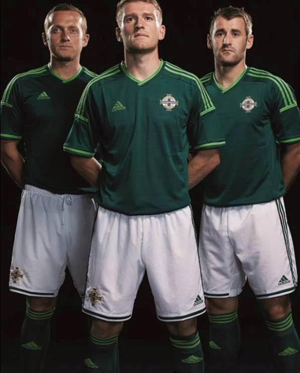 New Northern Ireland Adidas Kit 2014