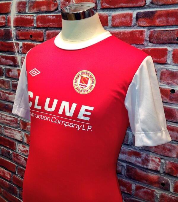 New St.Pats FC 2014 Kit