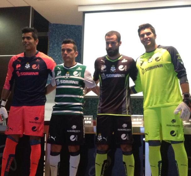 Puma Santos Laguna Jersey 2014