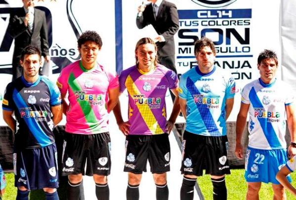 New Puebla Jersey 2014