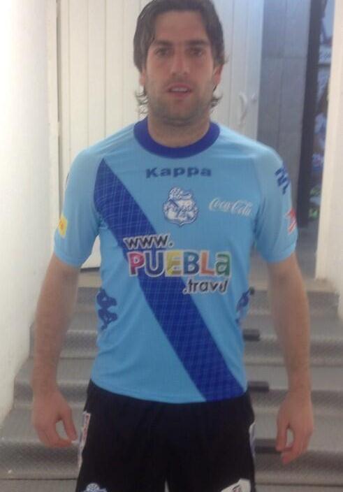 Puebla GK Shirt 2014