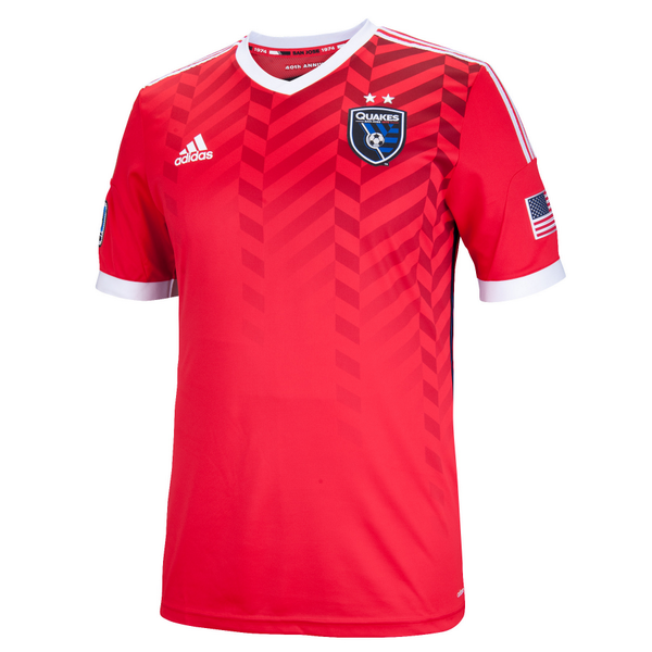 Red San Jose Earthquakes Jersey 2014