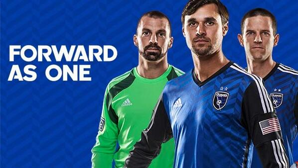 SJ Earthquakes Soccer Jersey 2014