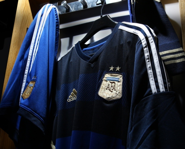 Argentina Away World Cup 2014 Jersey