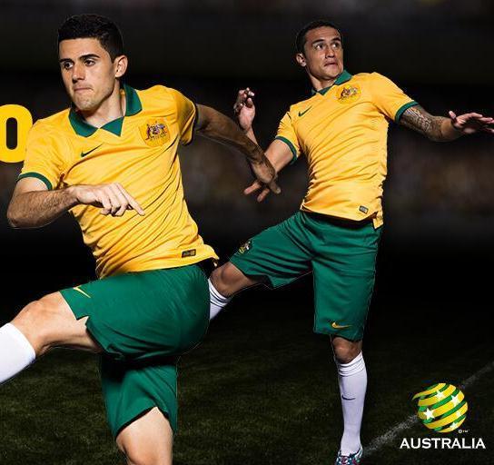Australia Soccer Jersey 2014 15