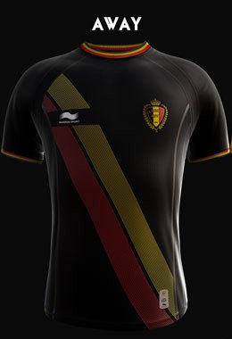 Belgium WC Jersey 2014