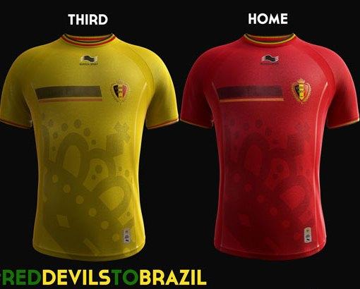 Burrda Belgium World Cup Kit 2014