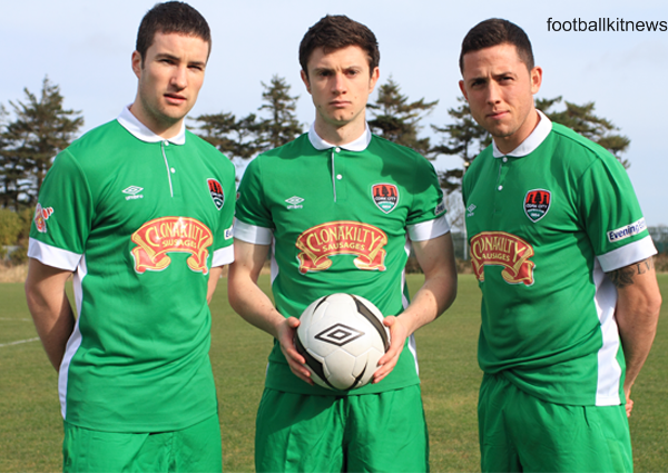 New Cork City FC 2014 Kit