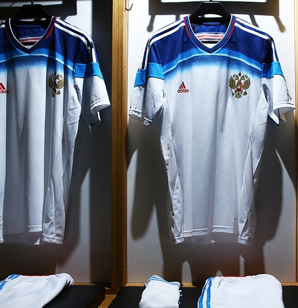 New Russia Away Soccer Jersey 2014