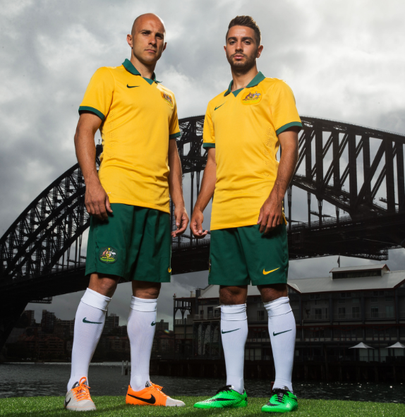 New Socceroos World Cup Jersey 2014